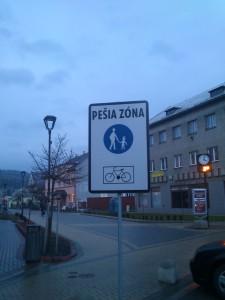 Turzovka pešia zóna