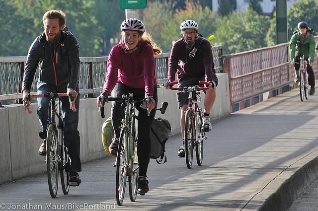 Portland opäť raz najbezpečnejším americkým mestom pre cyklistov.