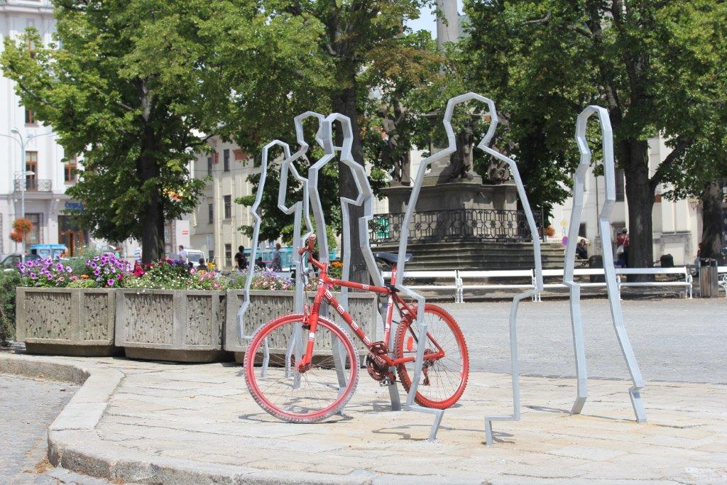 "Do kampane ""Do práce na bicykli "" sa zapojí  17  českých miest."