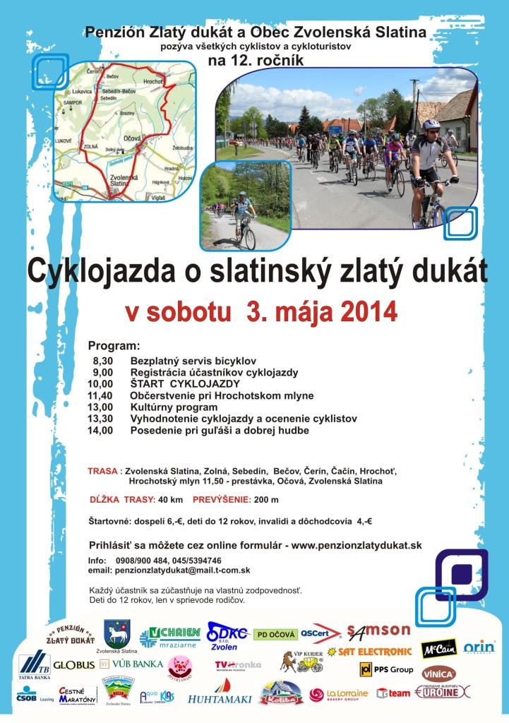 Cyklojazda plagát 2014