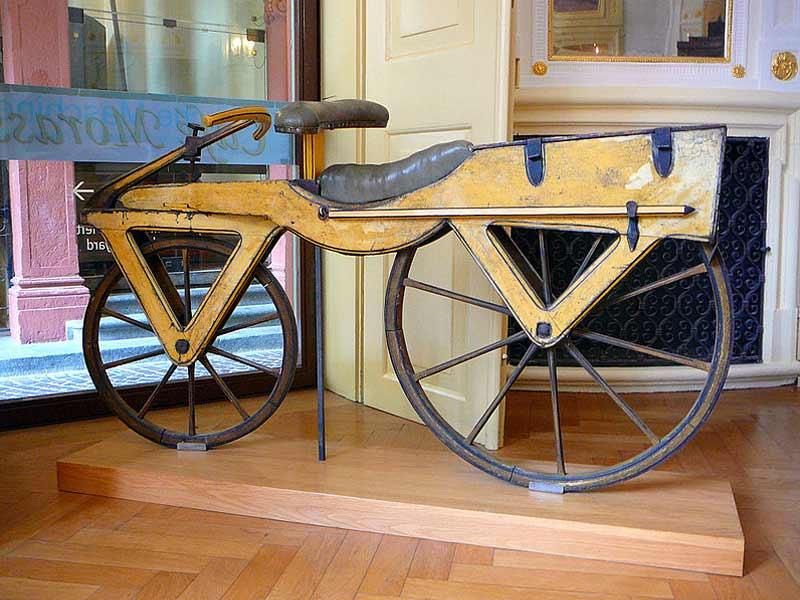 História bicykla
