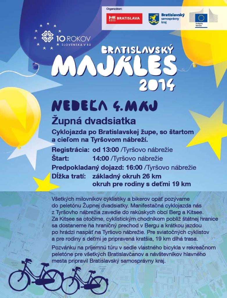 ZUPNA DVADSIATKA 2014 - Bratislavsky MAJALES 2014