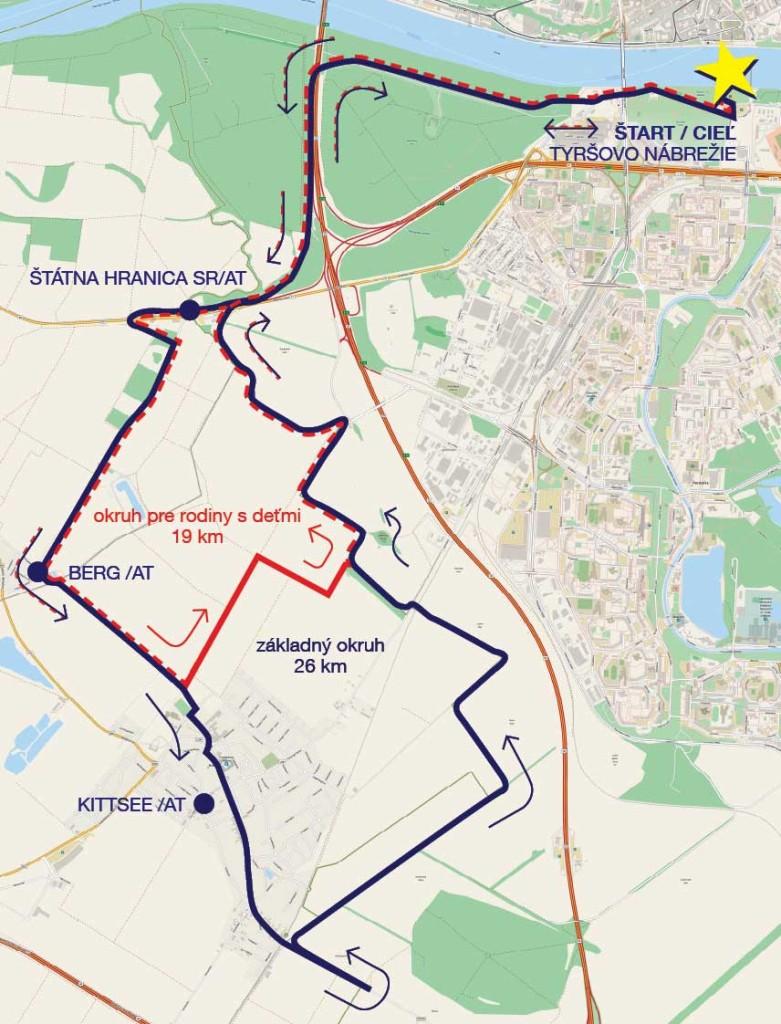 ZUPNA DVADSIATKA 2014 - Mapka Propozicie