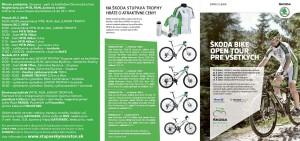 Letak - SKODA STUPAVA TROPHY 2014
