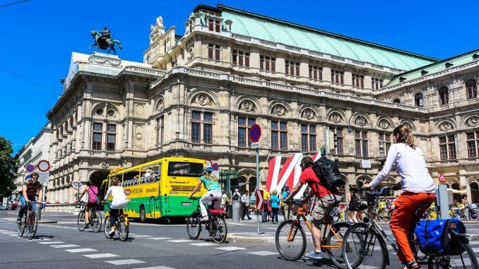Viedeň zaznamenala za prvý polrok 2014 nárast cyklistov.