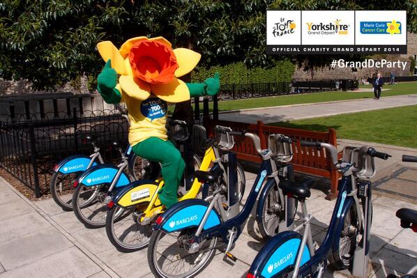 Hľadá sa žltý bicykel z TdF v Londýne!