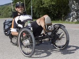 Káčer na bicykli pomôže ľuďom so zdravotným hendikepom