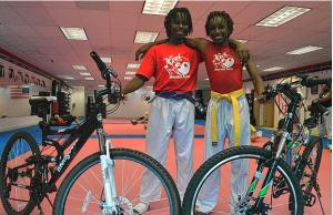 chalani a ich nové bicykle