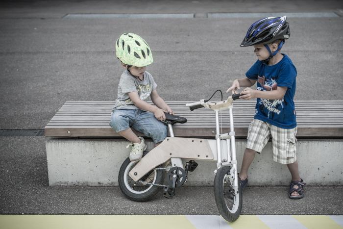 Miilo bicykel, ktorý rastie s deťmi.