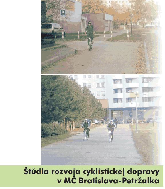Petržalčania pripomienkujte Štúdiu rozvoja cyklistickej dopravy!