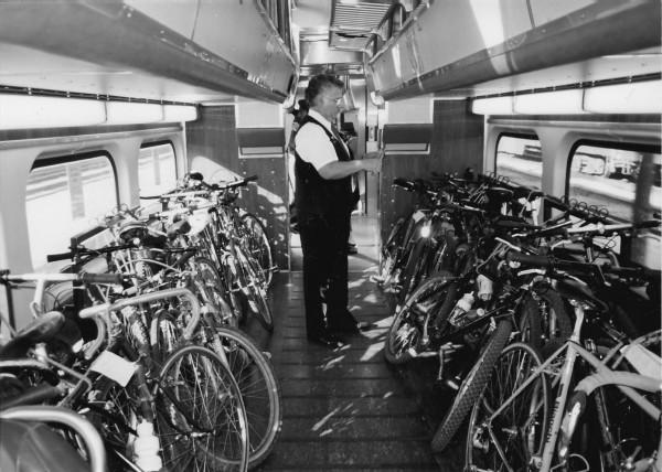 Cyklisti v San Francisku tlačia na železnicu, aby zvýšila kapacitu vlakov pre cyklistov.