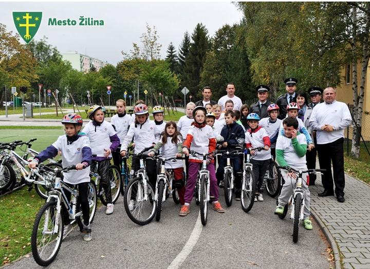 Žilina kúpila 20 bicyklov pre deti a 5 pre úradníkov.