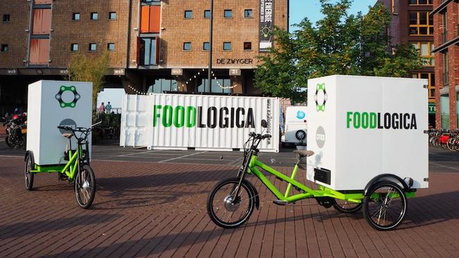 Cyklologistika v Amsterdame