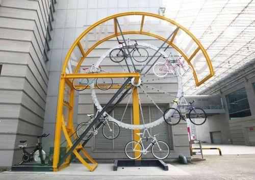 carousel-bike-rack
