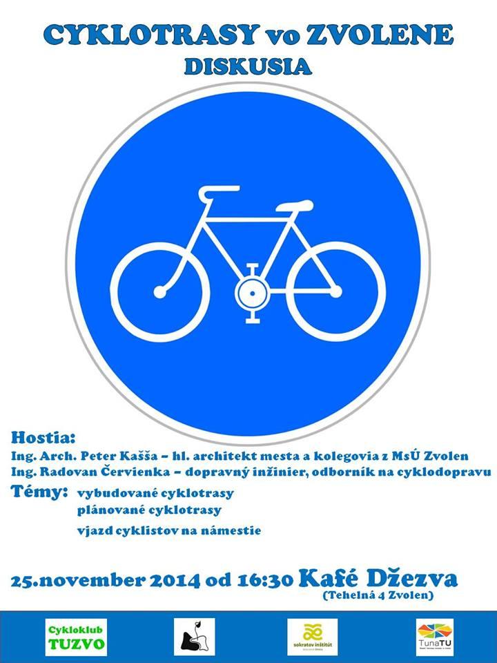 cyklotrasy vo Zvolene