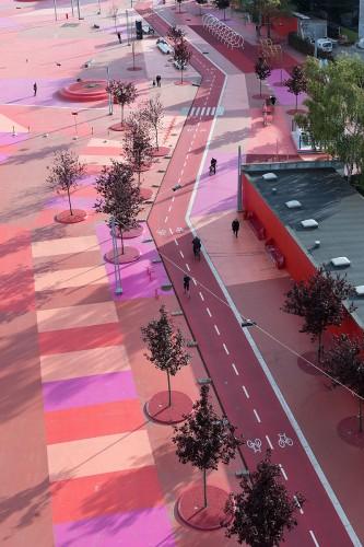 Príklad dobrého mestského zásahu v Kodani – Superkilen