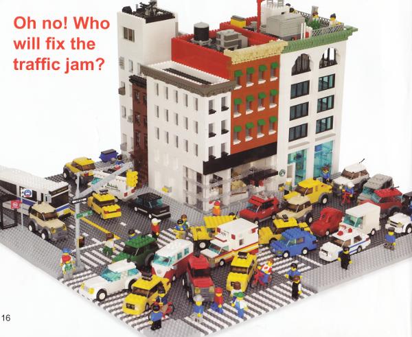 Rozmýšľate, čo kúpiť deťom pod stromček? Kúpte im Lego design book COOL CITY.