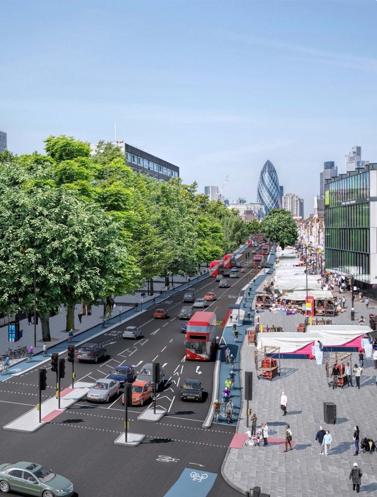 Londýn prerobí časť cyklodiaľníc v roku 2015