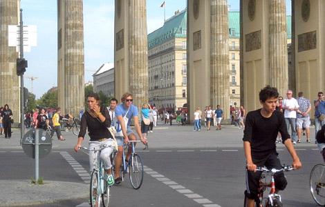 Berlín chce do roku 2017 zapracovať na cyklostratégií.