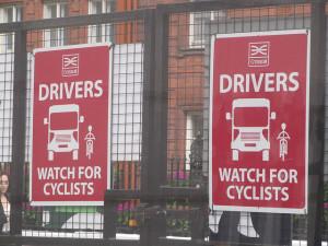 london truck drivers