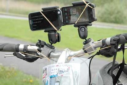 Aplikácia do mobilu hodnotí kvalitu cyklotrasy