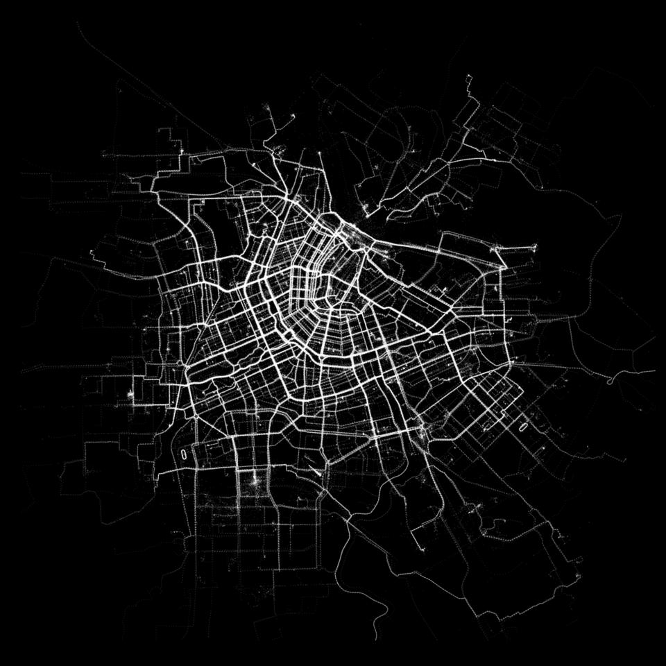 Human aplikácia,ktorá ukáže ako sa hýbeme v mestách.