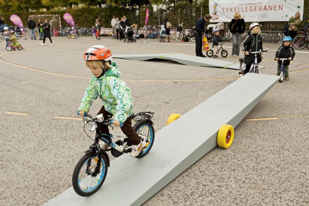 10 dánskych miest dostane cykloihriská pre deti.