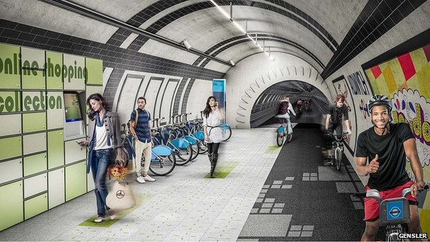 Londýn sa pohráva s myšlienkou dať cyklistov do tunelov.