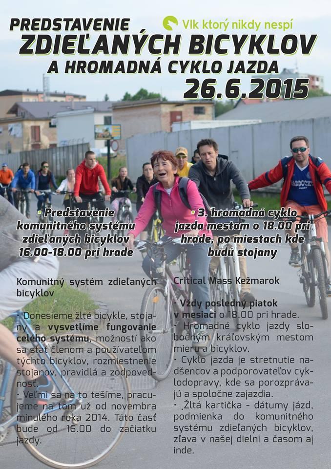Pozvánka do Kežmarku: v piatok spustia komunitný bikesharing a bude aj cyklojazda