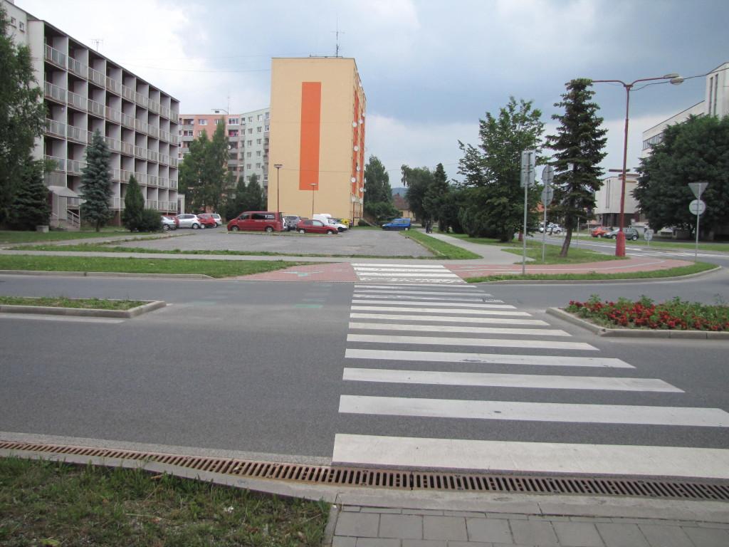 V Spišskej Novej Vsi môžu cyklisti prechádzať asi iba do pol cesty.