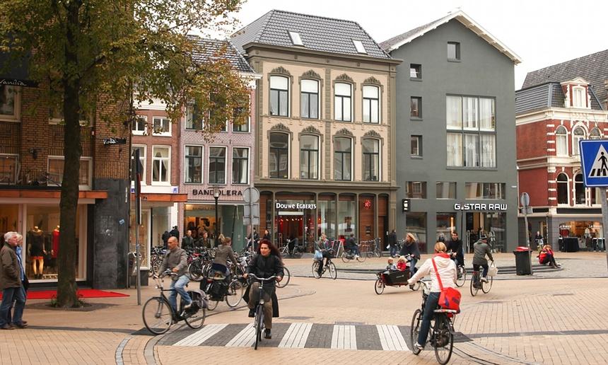 Prečo predstavuje Groningen šablónu cyklistického mesta?