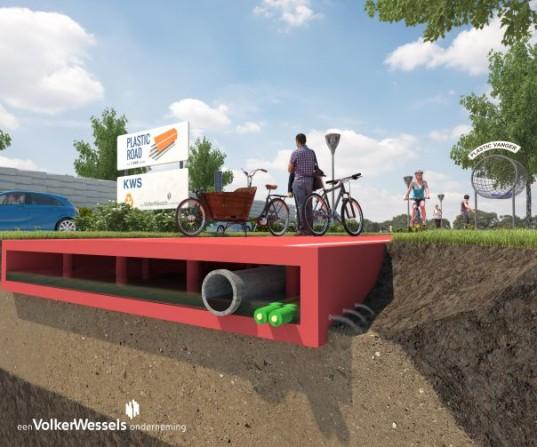 Rotterdam chce postaviť cesty z recyklovaného plastu