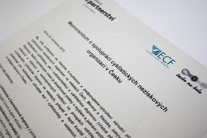 V Čechách podpísali memorandum o vzniku národnej cyklofederácie.