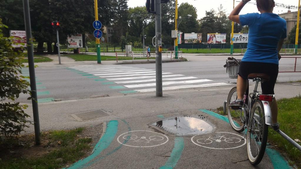 Cyklisti v Žiline si pred križovatkami môžu vyložiť nohy