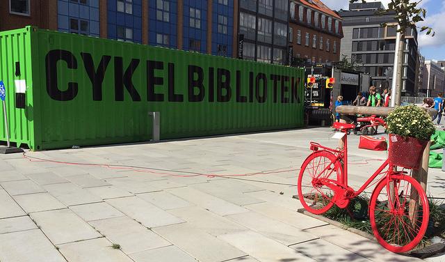 Aarhus s projektom cykloknižnice a 365 dní na bicykli