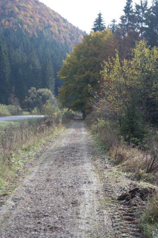 V októbri sa pracovalo najmä na úseku Liptovská Osada-Korytnica