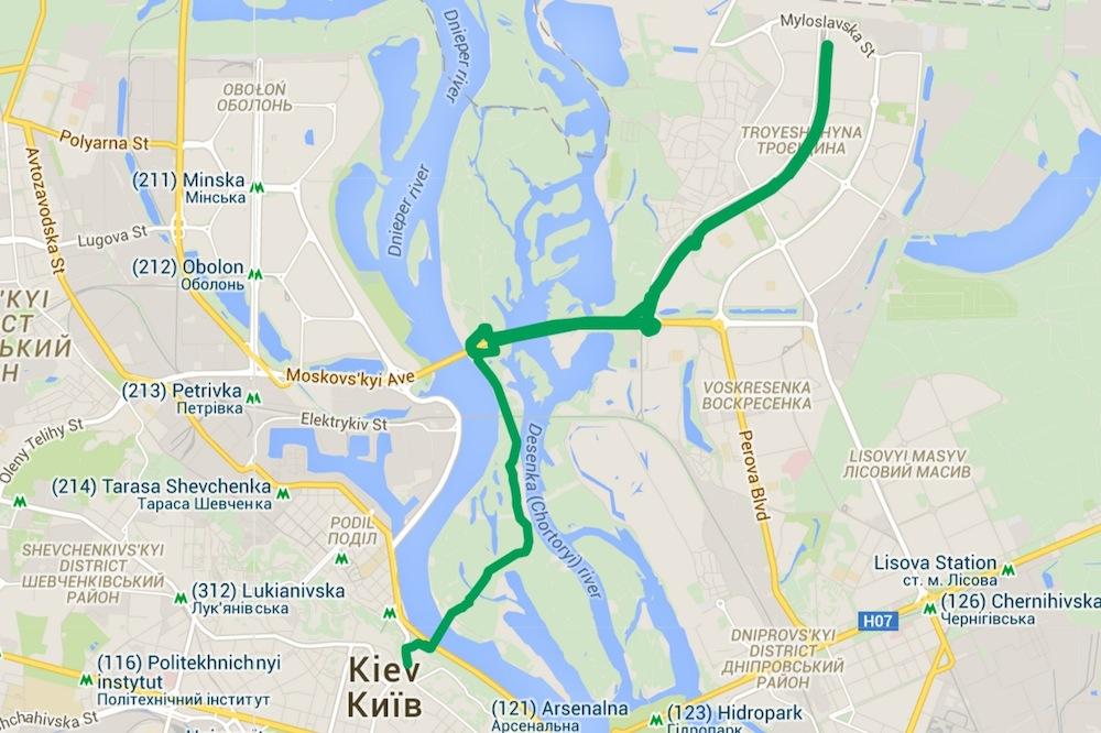 Kijev začína budovať cyklotrasy