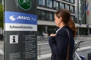 stanica s MVG bicyklami