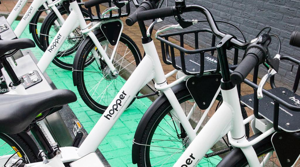 Prvý automatický bikesharing v Holandsku.