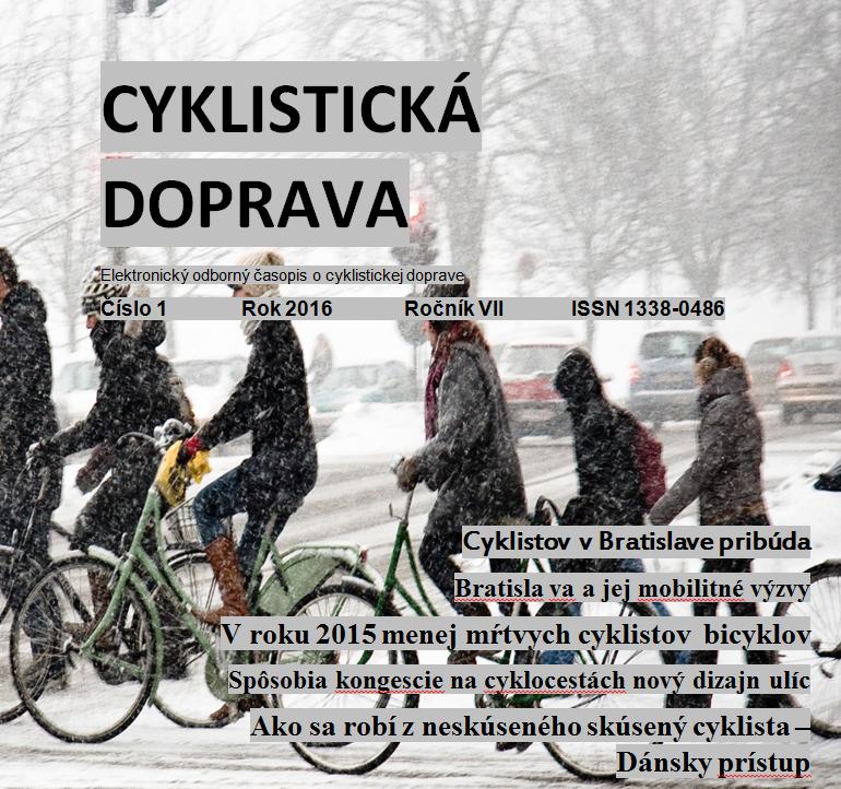 Januárové číslo Cyklistickej dopravy 2016