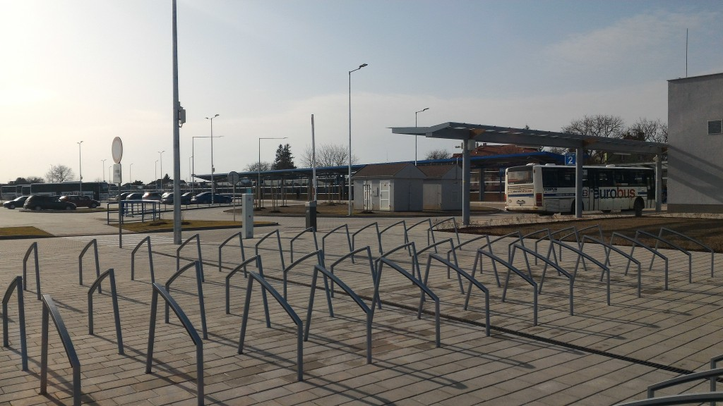 Multimodálny terminál Moldava nad Bodvou myslí aj na cyklistov