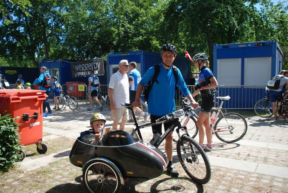 Využitie sajtky na bicykli