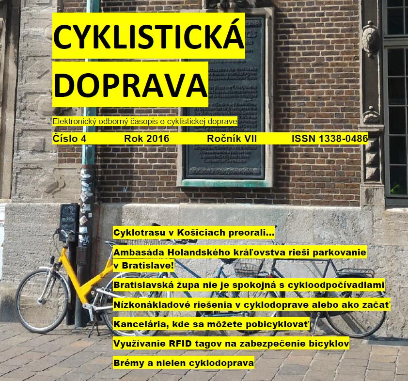 Bláznivý apríl a nové číslo Cyklistickej dopravy.