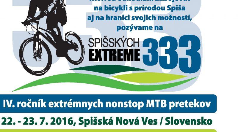 CYKLOAKCIA Spišských 333 EXTREME