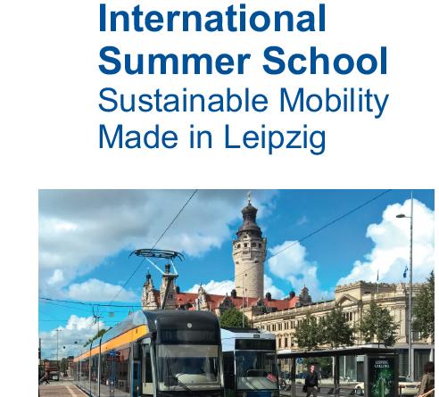 Letná škola o udržateľnej mobilite Lipsko