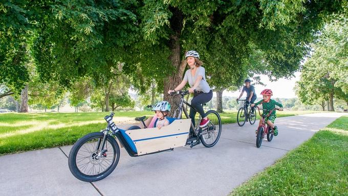 Lift premení váš bicykel na nákladný bicykel.