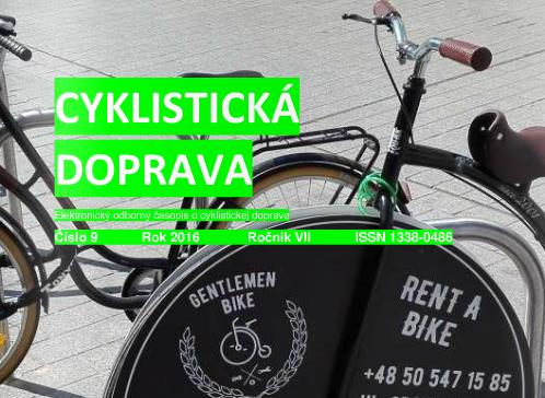 Cyklistická doprava septembrové číslo