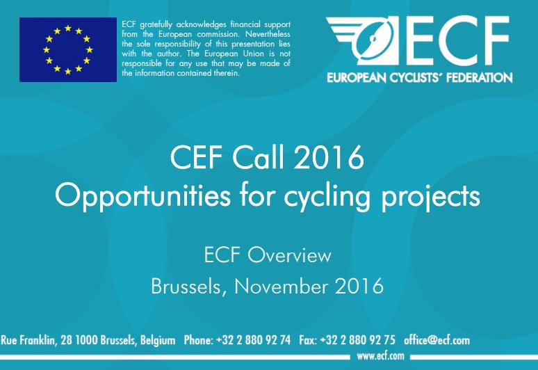 Nová európska výzva na budovanie cyklotrás