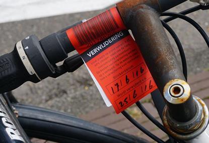 V Amsterdame odstraňujú cyklovraky.