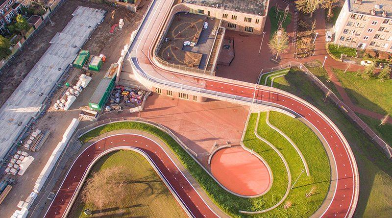 Nový cyklomost Dafne Schippersbrug v Utrechte.